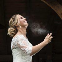 Bruid Stephanie